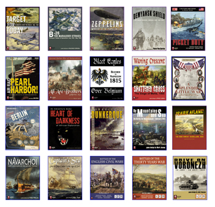 Legion Wargames: 20 New CPO Games Available Now!